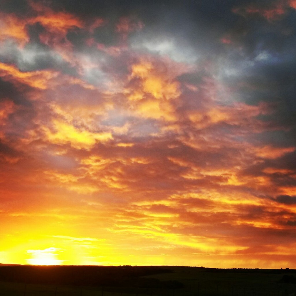Magic sunsets